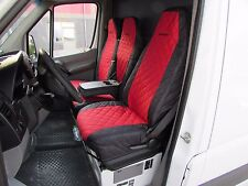 Mercedes Sprinter DODGE Sprinter 2006 - 2019 Front Seat Covers 1 SINGLE 1 DOUBLE