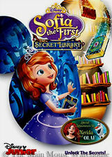 Disney Junior Sophia the First The Secret Library Featuring Merida & Olaf on DVD