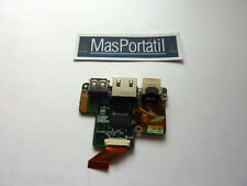 PLACA USB RJ45 PORT TOSHIBA SATELLITE U300,U305  P/N: DA0BU1PC6D0
