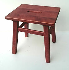 Wooden stool, solid beech wood, for kids,flower stand, stepping stool