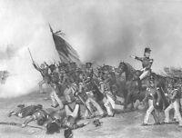 War of 1812 BATTLE OF CHIPPAWA Niagara River ~ Old 1860 Art Print Engraving RARE
