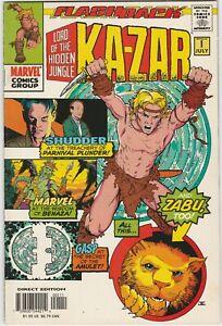 Ka-Zar Set # 2 - 7, -1 2007 Marvel Mark Waid Andy Kubert Zabu Flashback