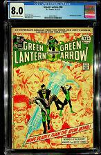 Green Lantern #86 (Oct-Nov 1971, DC) - CGC 8.0