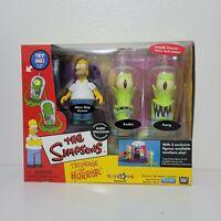Playmates The Simpsons Treehouse of Horror Alien Spaceship HOMER KODOS KANG