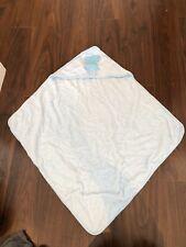Baby Boy 'Jack' Personalised Blue Hooded Towel. VGC