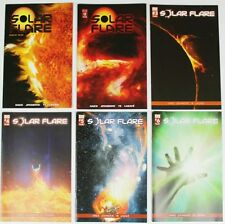 SOLAR FLARE SET - Issues #1-6 - Regular Covers - Signed - NM - Self Published!
