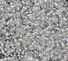 Pd:5000 Weiß Rocailles Glasperlen Seed Beads 2x2mm