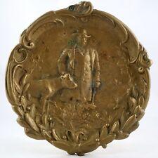 """Ancien VIDE-POCHE Coupelle en Bronze """"Le Berger"""" Art Nouveau/max le verrier..."""