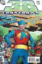 Countdown 38 Comic With Mr. Action Modern Age First Print 2007 DC