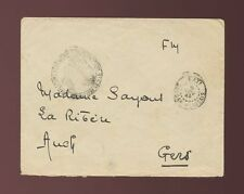 FRENCH SAHARA MILITARY MAIL FM CONCESSION 1942 KATI MALI