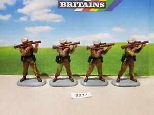 Britains Super Deetail Modern British SAS soldiers  (lot 3277)
