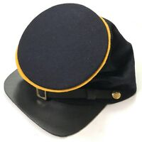 CIVIL WAR US UNION BLUE WOOL CAVALRY FORAGE CAP HAT-LARGE
