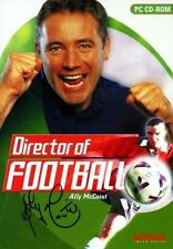 Director of Football Ally McCoist PC Cd-rom Video Game 2001 Empire Interactive