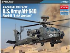"1/72 U.S.Army AH-64D Block II ""Late Version"" / Academy model kit / # 12551"