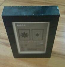 Ikea Ribba 4x6 Picture Frame. Wood Grain. Set of 2 New