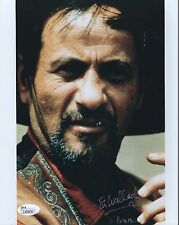ELI WALLACH HAND SIGNED 8x10 COLOR PHOTO    CALVERA FROM HOW WEST WAS WON    JSA