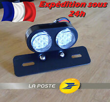 Feux Phare Arrière Support de Plaque / Moto Cafe Racer Custom Harley Chopper