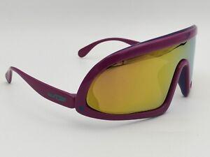 Vintage Carrera Sunjet 5250 Shield Sunglasses Pink Purple