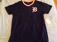 Detroit Tigers 47 Brand Vintage Look Jersey Tshirt Rare Mens Small