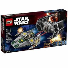 75150 DARTH VADER'S TIE ADVANCED VS A-WING star wars lego NEW legos set NISB