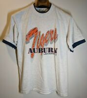 Vintage University Of Auburn Tigers T Shirt Large L Riverview MFG  Football SEC