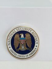 NSA - National Security Agency- LAPEL PIN /TIE TACK Police / Govt. / Leo - New