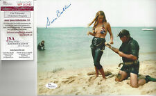 Jaws 1st Victim autographed 8x10 Preparation photo Jsa Cert Bonus of signing