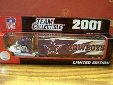 NFL, 2001 DALLAS COWBOYS, TEAM COLLECTIBLES, White Rose Collectibles