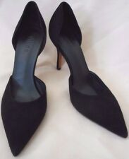 Vince Black Suede Classic Pumps Shoes Size 9 M