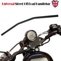 """1"""" Inch Drag Handlebar Z-Bar For Honda Yamaha Suzuki Kawasaki Harley Triumph"""
