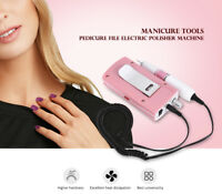 30000 RPM Cordless Nail File Drill Kit Electric Manicure Pedicure With Battery