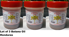 Lot of 3 jar of Batana Oil 3 onz -Original Pure Ojon Palm-Honduras FREE SHIPPING