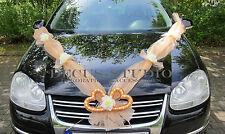 Dekorations-Set für Brautauto Hochzeit Autodeko Autoschmuck, AM001-03 /AT