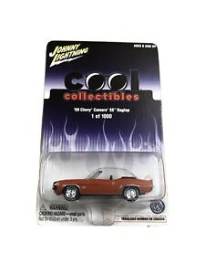 Johnny Lightning Cool Collectibles 69 Chevy Camaro SS 1000 Made - Orange 1:64