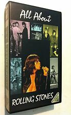 VHS Rolling Stones All About 1991 Mick Jagger  Keith Richard  Ron Wood C.Watts