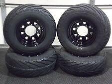 "POLARIS RANGER 25"" STREET LEGAL ATV TIRE- ITP BLACK ATV WHEEL KIT COMPLETE"