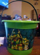Teenage Mutant Ninja Turtles Jumbo Halloween Candy Easter Basket Party Bucket