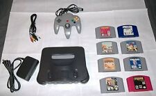 * Awesome Nintendo 64 System lot Console & 8 N64 Games