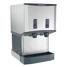 Scotsman Hid525wb 1 21 Water Cooled Nugget Style Ice Maker 25 Lbs Capacity