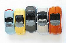 5 Maisto:Porsche Boxter, 2001 Buick Bengal, Benz SLK 230, Audi TT Roadster