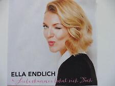 Ella Endlich  Liebeskummer lohnt sich Doch  Promo Maxi - CD 2014 Adrenalin Rar!!