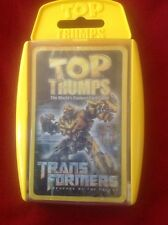 TRANSFORMERS The Movie Revenge Of The Fallen Top Trumps Card Game New!