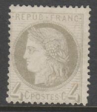 France - 1872, 4c Grey stamp - M/M - SG 189