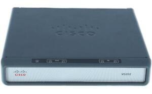 Cisco VG202 Voice Gateway VoIP Analog Router ohne Netzteil