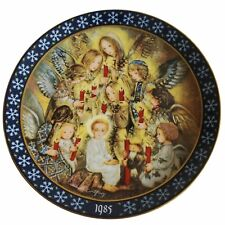 New listing Sulamith Wulfing's The Angels' Vigil Collector Plate 1985 Vintage