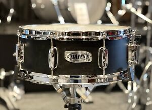 Mapex V Series Satin Matte Black Snare Drum #518