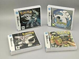 1 x Box Repro Pokémon Nera 2 Bianca 2 Soulsilver Platino Perla Diamante NO GIOCO