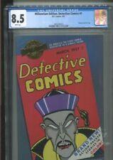 MILLENNIUM EDITION DETECTIVE COMICS 1 MARCH 1937 REPRINT CGC VERY FINE PLUS 8.5