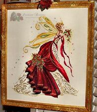 "SALE! COMPLETE X STITCH KIT ""PROSPERITY FAE RL38"" by Passione Ricamo"