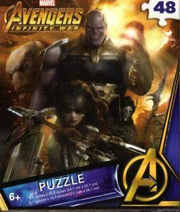 Marvel Avengers - 48 Pieces Jigsaw Puzzle - v10
